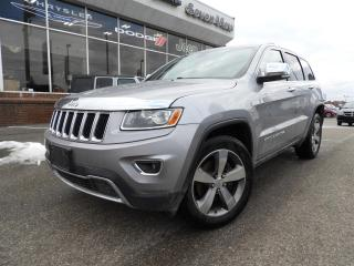 Used 2015 Jeep Grand Cherokee Limited NAVI/SUNROOF/TRAILER TOW PACKAGE for sale in Concord, ON