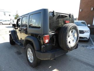 Used 2014 Jeep Wrangler Unlimited Sport ONLY 31,000 KMS for sale in Concord, ON