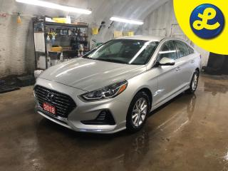 Used 2018 Hyundai Sonata SPORT/COMFORT/ECO mode * Blind spot assist * Reverse camera * Phone connect * Voice recognition * Auto/manual mode * Heated front seats * Climate cont for sale in Cambridge, ON