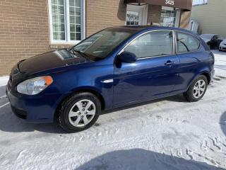 Used 2009 Hyundai Accent A/C VItres electriques BAS MILLAGE for sale in Pointe-Aux-Trembles, QC