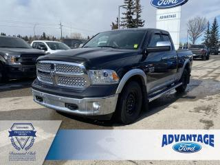 Used 2015 RAM 1500 Laramie Heated Seats - Keyless Entry for sale in Calgary, AB