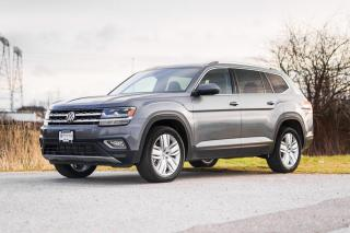 New 2019 Volkswagen Atlas 3.6 FSI Execline <b>*DIGITAL DASH* *AUTONOMOUS BRAKING* *LANE ASSIST* *CARPLAY* *ANDROID AUTO*<b> for sale in Surrey, BC