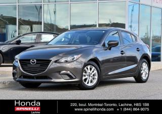 Used 2016 Mazda MAZDA3 Sport GS MANUELLE NAVI TOIT BAS KM MANUELLE*TOIT*GPS*AC*SIEGES CHAUFFANTS*++ for sale in Lachine, QC