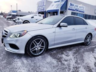 Used 2015 Mercedes-Benz E-Class ADAPTIVE CRUISE|NAVI|LANE ASSIST|BLIND SPOT|ACCIDENT PREVENTION for sale in Concord, ON