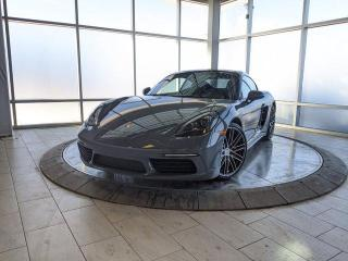Used 2017 Porsche 718 Cayman S | CPO | Ext. Warranty | Premium Plus | Apple CarPlay | Sport Chrono | 18-Way Seats for sale in Edmonton, AB