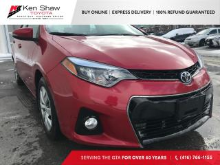 Used 2016 Toyota Corolla | ONE OWNER | NO ACCIDENTS | for sale in Toronto, ON
