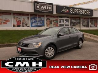 Used 2015 Volkswagen Jetta TRENDLINE+ for sale in St. Catharines, ON