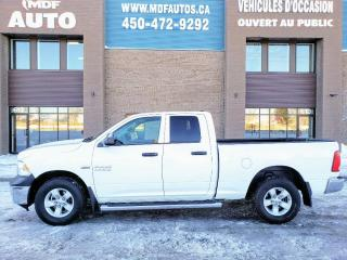 Used 2017 RAM 1500 Cabine quad 4RM, 140,5 po ST for sale in St-Eustache, QC