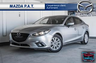 Used 2016 Mazda MAZDA3 AUTOMATIQUE+CAMÉRA DE RECUL+SIÈGES CHAUFFANTS for sale in Montréal, QC