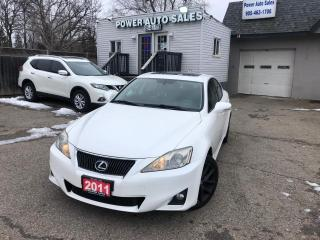 Used 2011 Lexus IS 250 4DR SDN AUTO AWD for sale in Brampton, ON