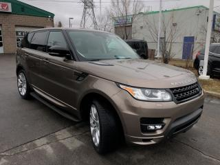 Used 2015 Land Rover Range Rover Sport Autobiography Dynamic SC 7 PASS for sale in Burlington, ON