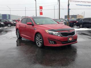 Used 2014 Kia Optima SX-TURBO*PANO ROOF*NAV*BACKUP CAM for sale in London, ON