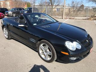 Used 2007 Mercedes-Benz SL-Class 550 * HARD TOP CONVERTIBLE, HTD/COOLED LEATH ** for sale in St Catharines, ON