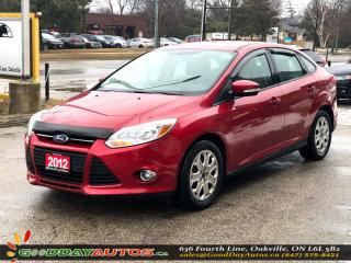 Used 2012 Ford Focus SE|LOW KM|NO ACCIDENT|BLUETOOTH|HEATED SEATS|CERT. for sale in Oakville, ON