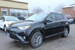 Used 2017 Toyota RAV4 XLE HYBRID for sale in Brampton, ON