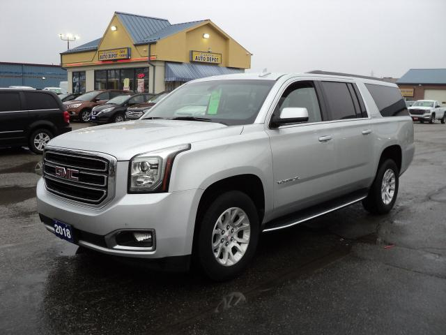 2018 GMC Yukon XL 1500 SLE 4x4 5.3L BackUpCam RemoteStart 8Pass