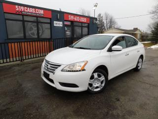 Used 2013 Nissan Sentra S|AUX|BLUETOOTH|LOW KM for sale in St. Thomas, ON