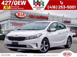 Used 2018 Kia Forte LX+ | Android Auto | Heated Seat | 7'Display for sale in Etobicoke, ON