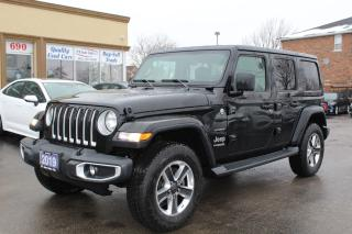 Used 2019 Jeep Wrangler Sahara Leather Heated Steering for sale in Brampton, ON