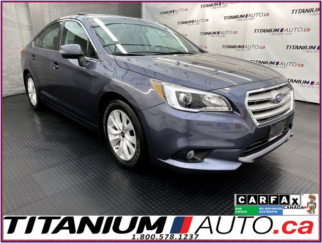 2016 Subaru Legacy Touring & Tech+EyeSight+Camera+Sunroof+Lane Assist