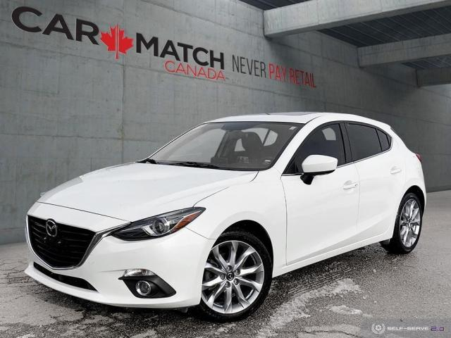 2015 Mazda MAZDA3 GT / LEATHER / NO ACCIDENTS