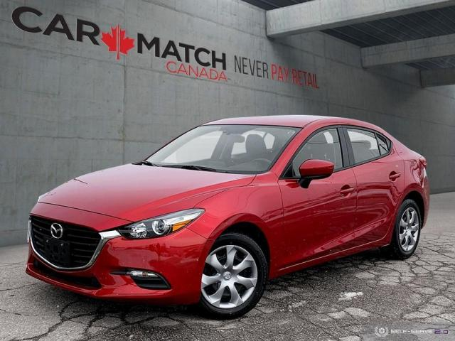 2017 Mazda MAZDA3 GX / AUTO / AC / POWER GROUP