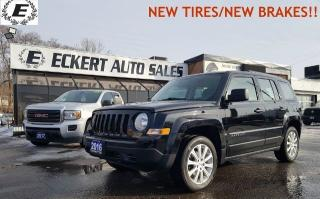 Used 2016 Jeep Patriot Sport/NEW TRES/DON'T PAY FOR 6 MONTHS OAC!! for sale in Barrie, ON