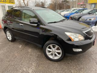 Used 2009 Lexus RX 350 NAVI/ BACK UP CAM/ LEATHER/ SUNROOF/ ALLOYS & MORE for sale in Scarborough, ON