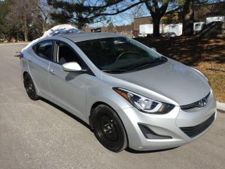 2016 Hyundai Elantra GL-ONLY 40,962 KMS! 1 OWNER! NO CLAIMS!!