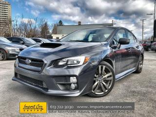 Used 2017 Subaru WRX Sport-tech LEATHER  ROOF  NAVI  HTD SEATS  BACKUP for sale in Ottawa, ON