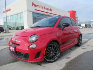 Used 2015 Fiat 500 2dr HB Abarth | GREAT CONDITION | HEATED SEATS | for sale in Brampton, ON