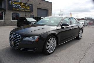 Used 2011 Audi A8 NAVI,MASSAGE SEATS,BACKUP CAMERA,AWD,NIGHT VISION for sale in Newmarket, ON