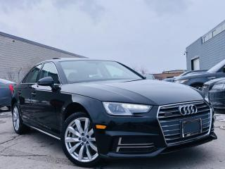 Used 2018 Audi A4 |QUATTRO||AUTO|SUN ROOF|HEATED SEATS|REAR VIEW CAMERA! for sale in Brampton, ON