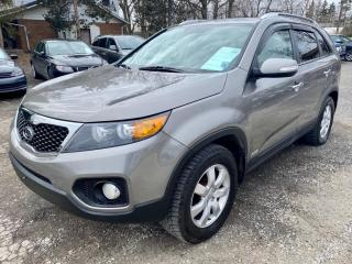 Used 2013 Kia Sorento 4 cylinder, AWD LX, no accidents for sale in Halton Hills, ON