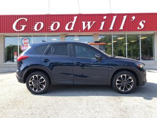 Used 2016 Mazda CX-5 GT! HEATED LEATHER! NAV! SUNROOF! BACKUP CAMERA! for sale in Aylmer, ON