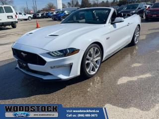 Used 2019 Ford Mustang GT Premium Convertible  - Low Mileage for sale in Woodstock, ON