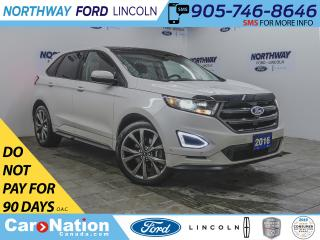 Used 2016 Ford Edge Sport | AWD | NAV | LEATHER | PANOROOF | HID LAMPS for sale in Brantford, ON