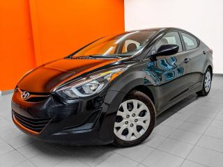 Used 2014 Hyundai Elantra GL BLUETOOTH AUTOMATIQUE *SIÈGES CHAUFFANTS* for sale in St-Jérôme, QC