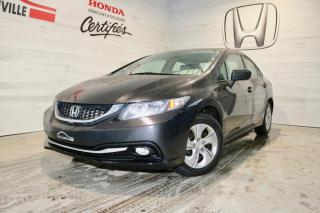 Used 2015 Honda Civic 4 portes, boîte manuelle, LX for sale in Blainville, QC