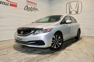 Used 2015 Honda Civic 4 portes boîte manuelle EX for sale in Blainville, QC