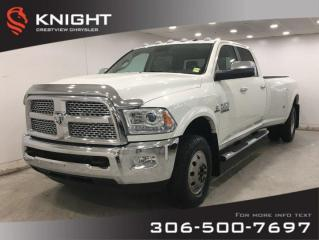 Used 2016 RAM 3500 Laramie Dually | Leather | Navigation | Sunroof for sale in Regina, SK