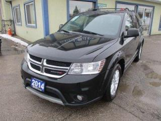 Used 2014 Dodge Journey FAMILY MOVING SXT MODEL 7 PASSENGER 3.6L - DOHC.. BENCH & THIRD ROW.. CD/AUX/USB INPUT.. KEYLESS ENTRY & START.. TOUCH SCREEN DISPLAY.. for sale in Bradford, ON