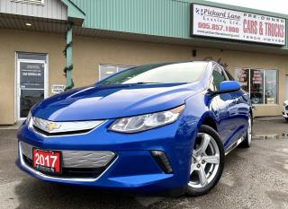 Used 2017 Chevrolet Volt LT EV||LEATHER||HEATED SEATS||REVERSE CAMERA||BLUETOOTH||CERTIFIED for sale in Bolton, ON