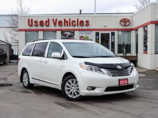 Used 2016 Toyota Sienna 5dr XLE 7-Pass AWD LIMITED for sale in North York, ON