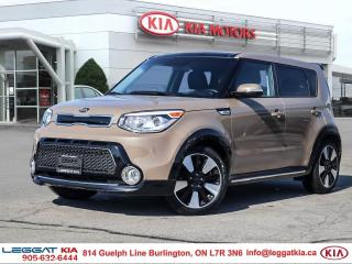 Used 2016 Kia Soul SX Urban Special Edition, LEATHER, ***RARE CAPPUCCINO BROWN***, LOADED! BACKUP CAMERA, KEYLESS ENTRY for sale in Burlington, ON