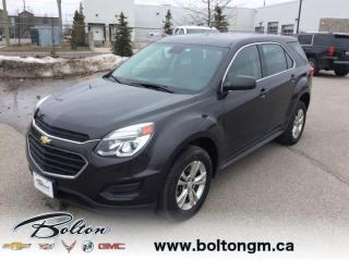 Used 2016 Chevrolet Equinox LS - Package - $127 B/W for sale in Bolton, ON