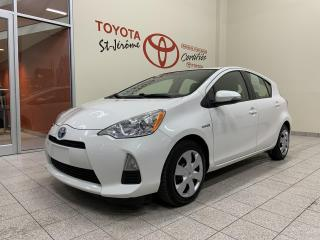 Used 2014 Toyota Prius c * HYBRID * GR ELECT * A/C * BLUETOOTH * for sale in Mirabel, QC