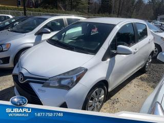 Used 2015 Toyota Yaris Hayon 5 portes,, LE for sale in Victoriaville, QC