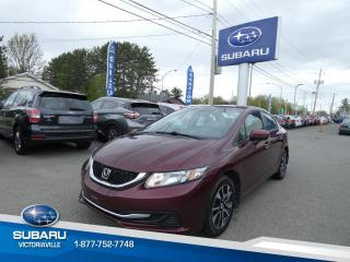 Used 2015 Honda Civic EX 4 portes, boîte automatique for sale in Victoriaville, QC