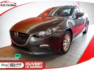 Used 2016 Mazda MAZDA3 *GS*CAMÉRA*AIR*SIÈGES CHAUFF* for sale in Québec, QC